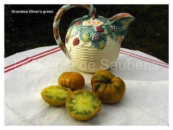 Grandmas oliver's green